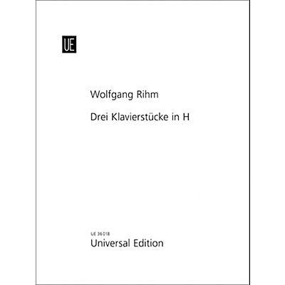 Carl Fischer 3 Piano Pieces In B Book