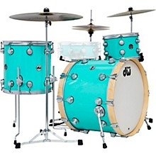 DW 3-Piece Collector's Series Santa Monica Shell Pack with Satin Chrome Hardware