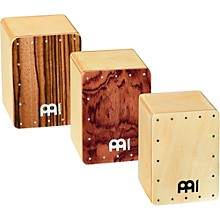 Meinl 3-Piece Mini Cajon Shaker Set