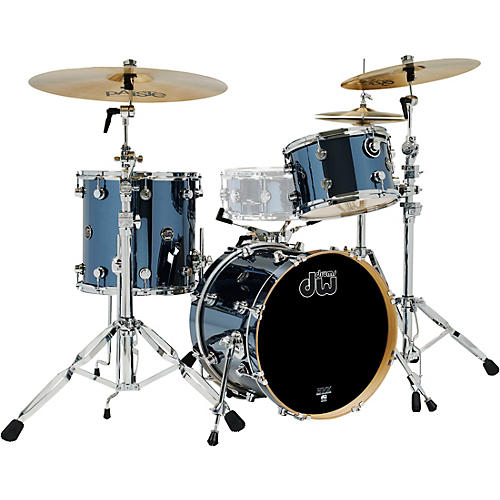 DW 3-Piece Performance Series Shell Pack Chrome Shadow