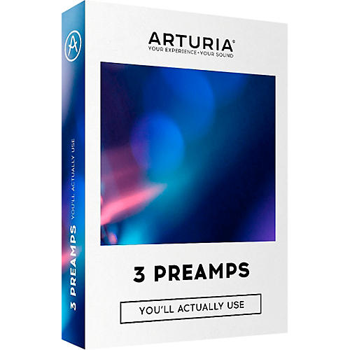 Arturia 3 Preamps You'll Actually Use Plug-in Bundle