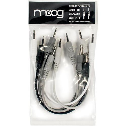 Moog 3.5mm TS cables 6