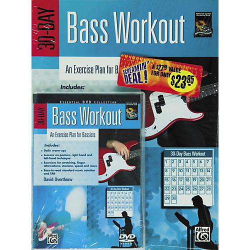 Alfred 30-Day Bass Workout (Book/DVD)