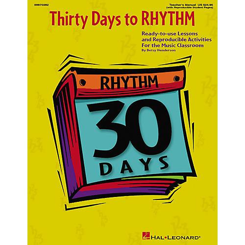 Hal Leonard 30 Days to Rhythm (Teacher Edition)