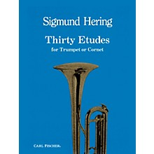 Carl Fischer 30 Etudes for Trumpet or Cornet by Sigmund Hering