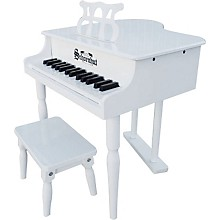 30 Key Classic Baby Grand White