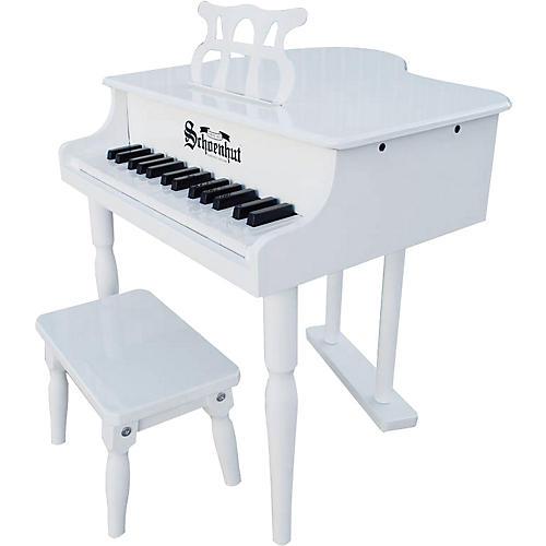 Schoenhut 30 Key Classic Baby Grand White