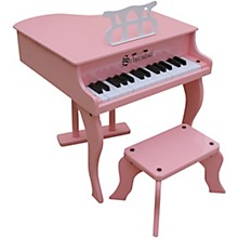 30-Key Fancy Baby Grand Toy Piano Pink