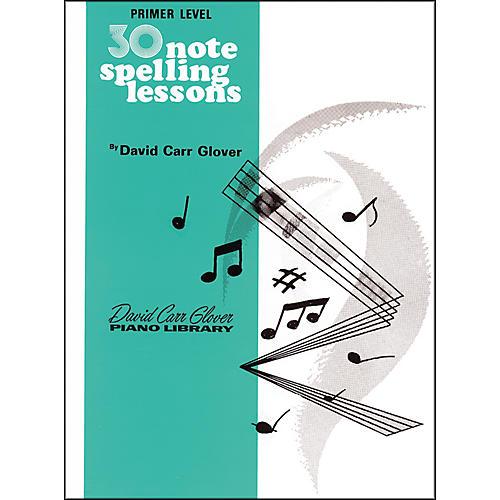 Alfred 30 Notespelling Lessons Primer