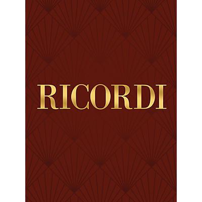 Ricordi 30 Nuovo Studi di Meccanismo, Op. 849 Piano Method Composed by Carl Czerny Edited by Ettore Pozzoli