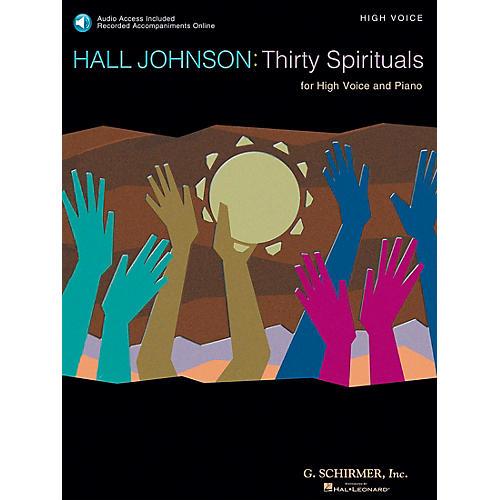 G. Schirmer 30 Spirituals for High Voice Book/CD