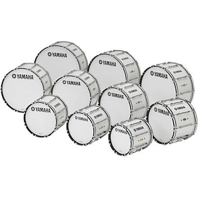 "Yamaha 30 x 14"" 8300 Series Field-Corps Marching Bass Drum"