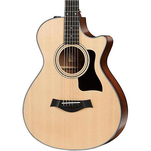 Taylor 300 Series 312ce 12-Fret Grand Concert Acoustic-Electric Guitar