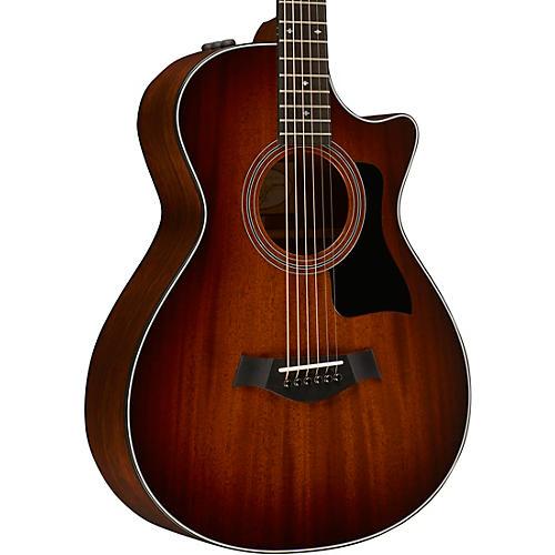 Taylor 300 Series 322ce 12-Fret Grand Concert Acoustic-Electric Guitar