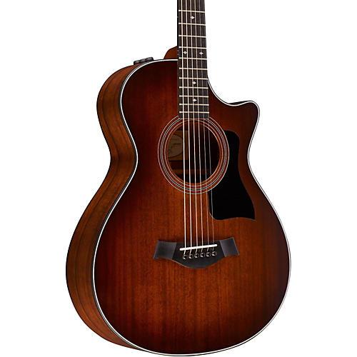 Taylor 300 Series 322ce-SEB 12-Fret Grand Concert Acoustic-Electric Guitar