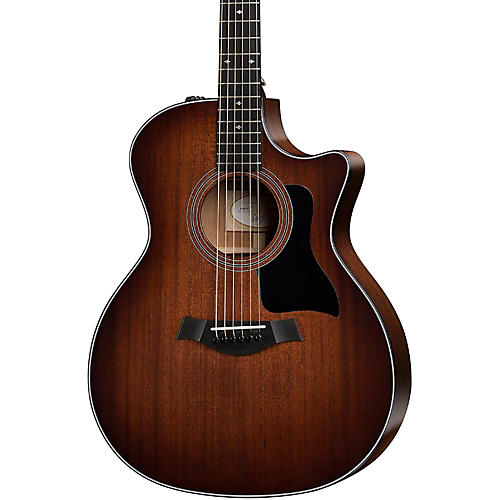 Taylor 300 Series 324ce-SEB Grand Auditorium Acoustic-Electric Guitar