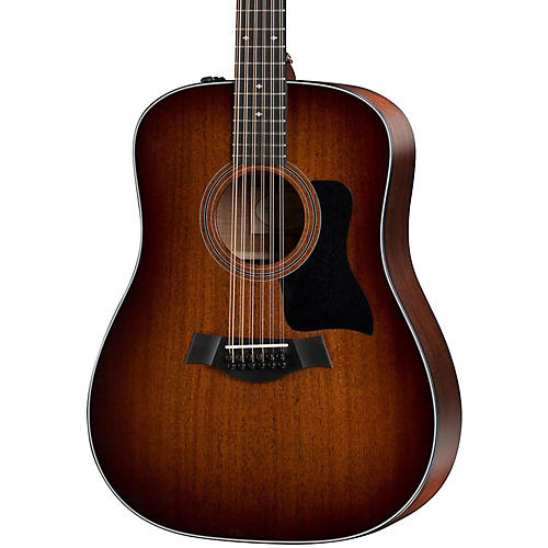 taylor 300 series 360e dreadnought 12 string acoustic electric guitar musician 39 s friend. Black Bedroom Furniture Sets. Home Design Ideas