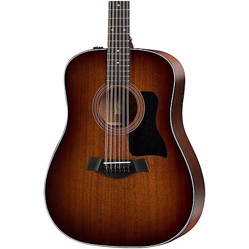 Taylor 300 Series 360e-SEB Dreadnought 12-String Acoustic-Electric Guitar