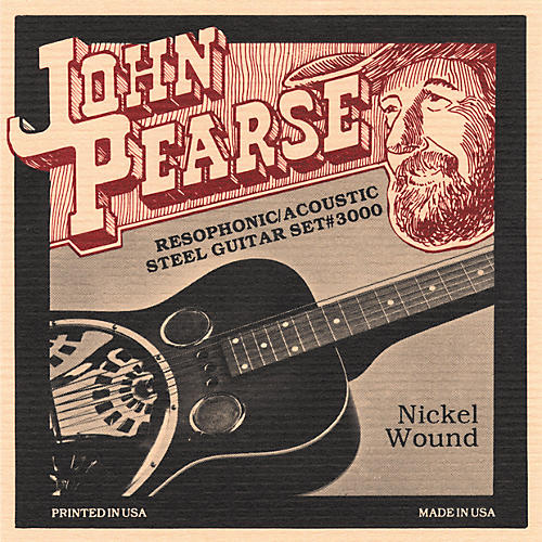John Pearse 3000 Resophonic Strings