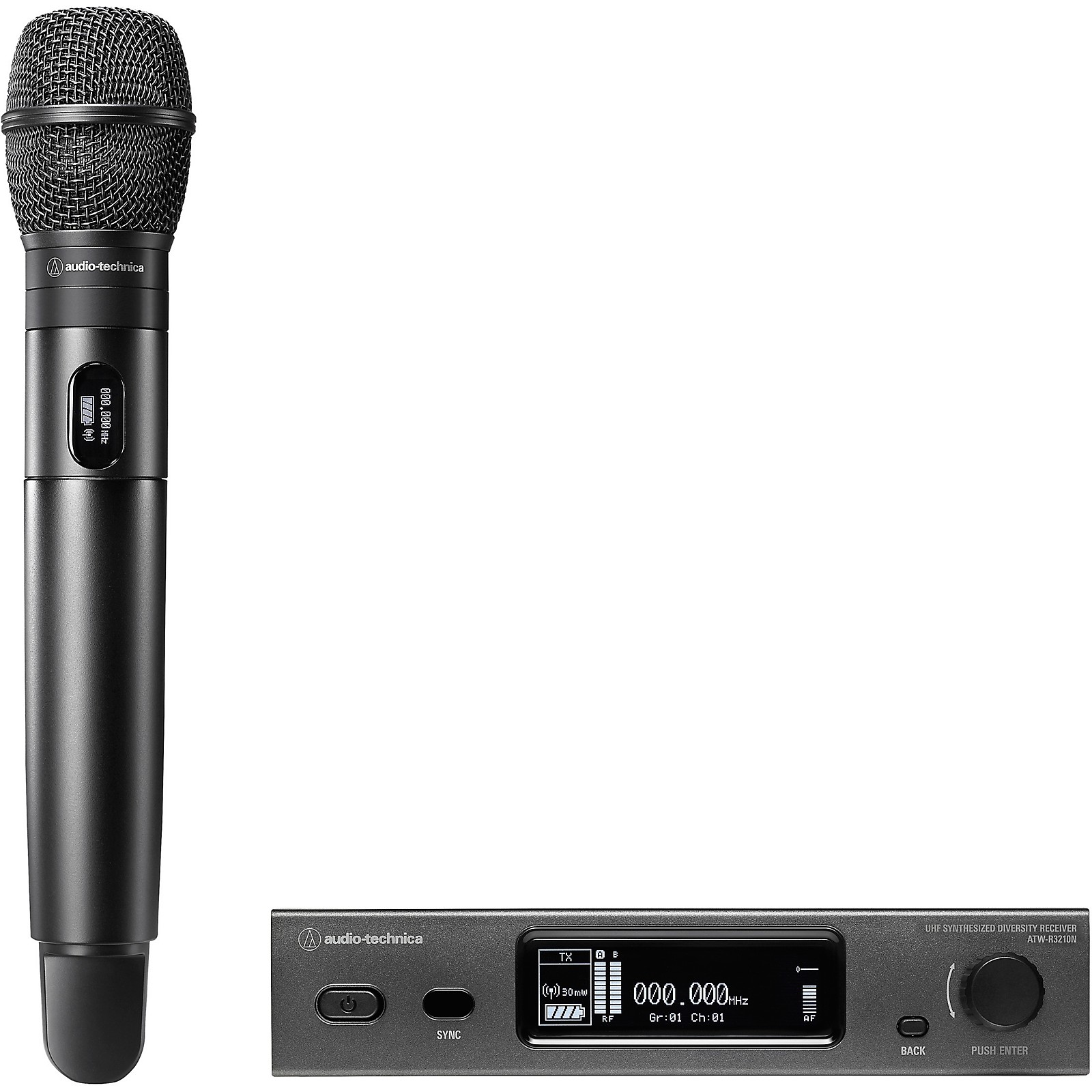 Audio-Technica 3000 Series (4th Gen) Network Enabled UHF Wireless with ATW-C710 Cardioid Dynamic Microphone Capsule