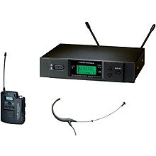 Open Box Audio-Technica 3000 Series Headworn Wireless Microphone System / C Band