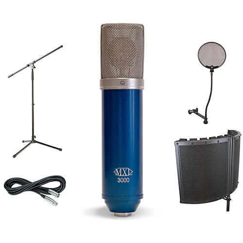 MXL 3000 VS1 Stand Pop Filter and Cable Kit