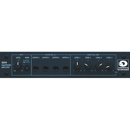 Symetrix 304 Headphone Amplifier