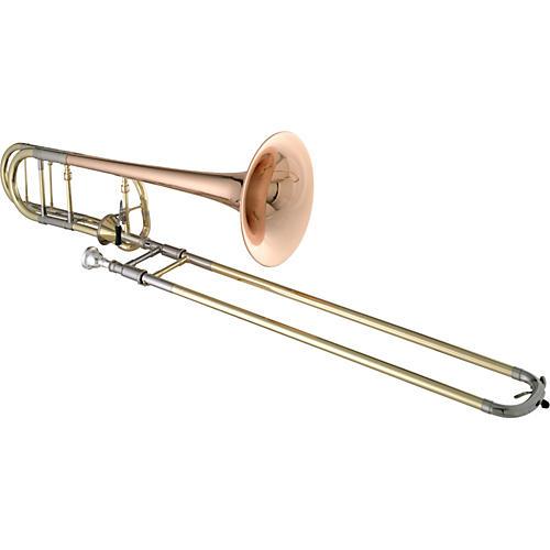 Getzen 3047AF Custom Series F Attachment Trombone Lacquer Red Brass Bell