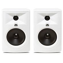 """JBL 305P MKII Super White 5"""" Powered Studio Monitor Pair"""