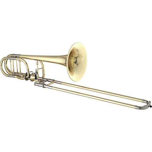 Getzen 3062AF Custom Series Bass Trombone 3062AF Lacquer Yellow Brass Bell