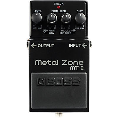Boss 30th Anniversary MT-2-3A Metal Zone Effects Pedal