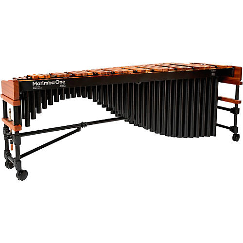 Marimba One 3100 #9304 A442 Marimba with Traditional Keyboard and Basso Bravo Resonators