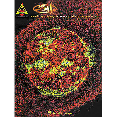 Hal Leonard 311 - From Chaos Book