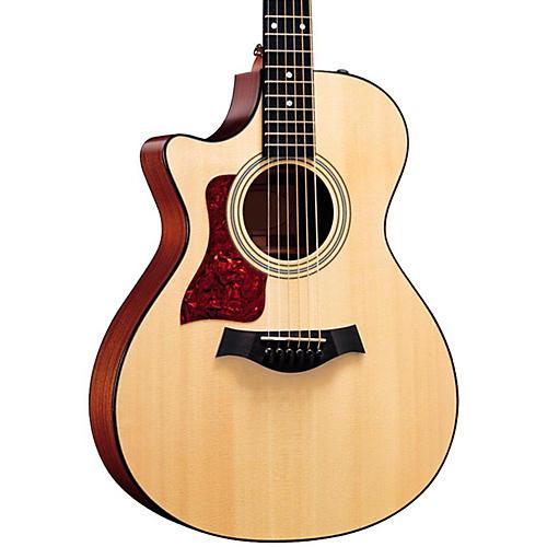 Taylor 312ce-L Sapele/Spruce Grand Concert Left-Handed Acoustic-Electric Guitar