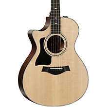 Taylor 312ce V-Class Grand Concert Left-Handed Acoustic-Electric Guitar