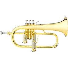 3145 Challenger I Series Bb Flugelhorn Yellow Brass