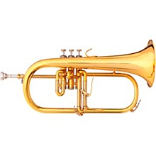 3146 Challenger II Brochon Series Bb Flugelhorn Gold Brass