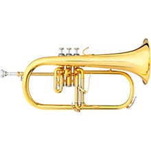 3146 Challenger II Brochon Series Bb Flugelhorn Yellow Brass