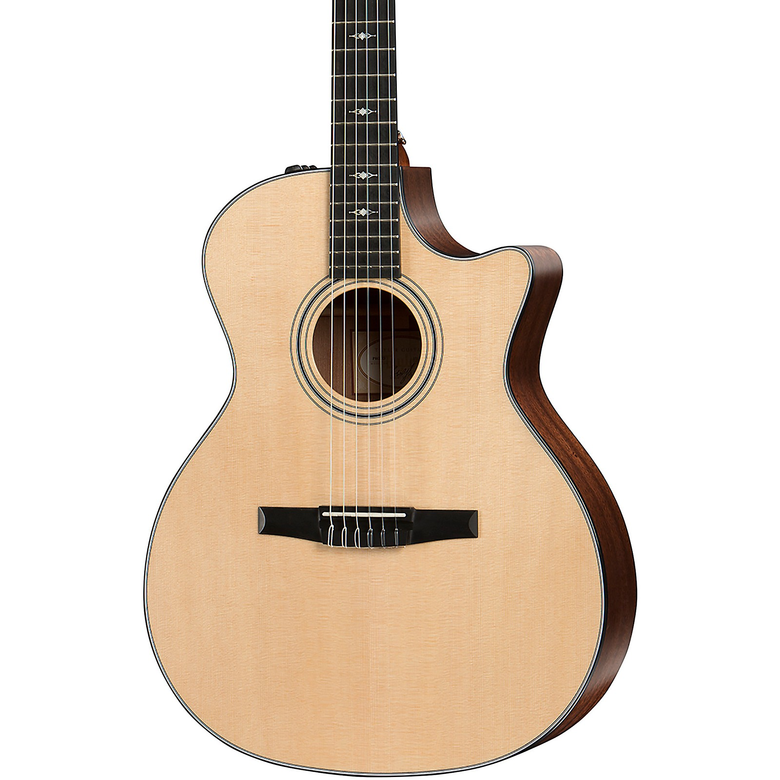 Taylor 314ce-N Grand Auditorium Nylon-String Acoustic-Electric Guitar