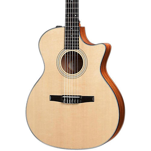 Taylor 314ce-N Sapele/Spruce Nylon String Grand Auditorium Acoustic-Electric Guitar