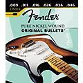 Fender 3150LR Pure Nickel Bullet End Light Regular Electric Guitar Strings thumbnail