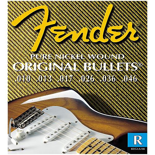 Fender 3150R Original 150 Pure Nickel Bullet End Strings 2-Pack