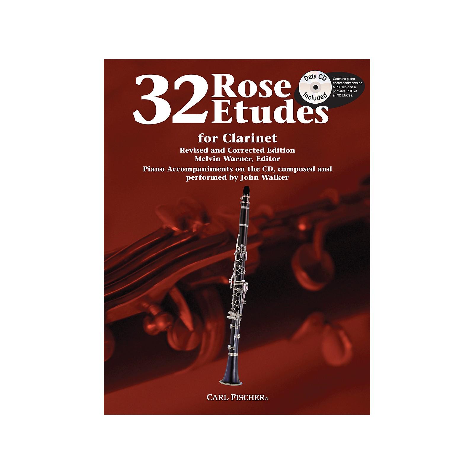 Carl Fischer 32 Rose Etudes for Clarinet
