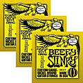 Ernie Ball 3227 Nickel Beefy Slinky Electric Guitar Strings 3-Pack thumbnail