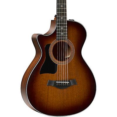 Taylor 322ce 12-Fret V-Class Grand Concert Left-Handed Acoustic-Electric Guitar
