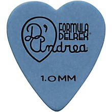 D'Andrea 323 Heart Delrex Delrin Picks - One Dozen