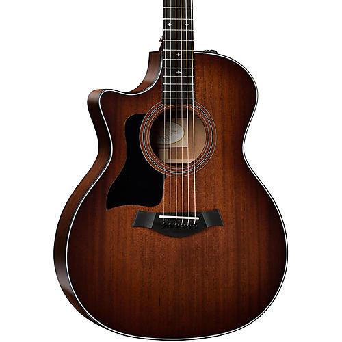 Taylor 324ce-LH Grand Auditorium Left-Handed Acoustic-Electric Guitar