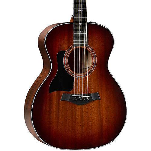 Taylor 324e V-Class Grand Auditorium Left-Handed Acoustic-Electric Guitar Shaded Edge Burst
