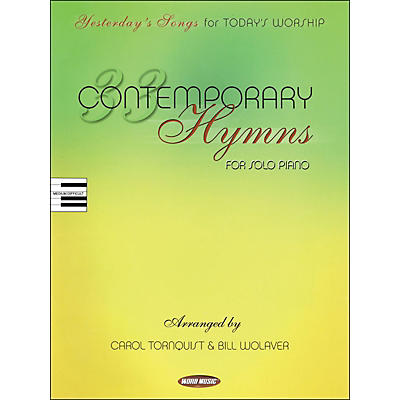Word Music 33 Contemporary Hymns arranged for piano, vocal, and guitar (P/V/G)