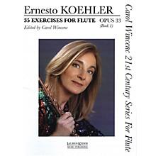 Lauren Keiser Music Publishing 35 Exercises for Flute, Op. 33 (Carol Wincenc 21st Century Series for Flute - Book 1) LKM Music Series